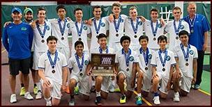 Blake boys' tennis team