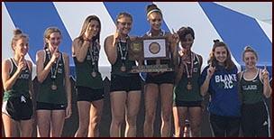 Blake girls' track and field team