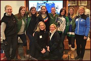 Original Blake girls' hockey team